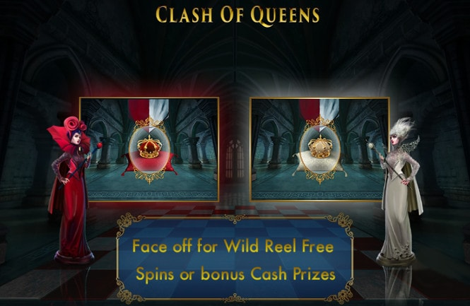 слот Clash of Queens - бонус тур игры