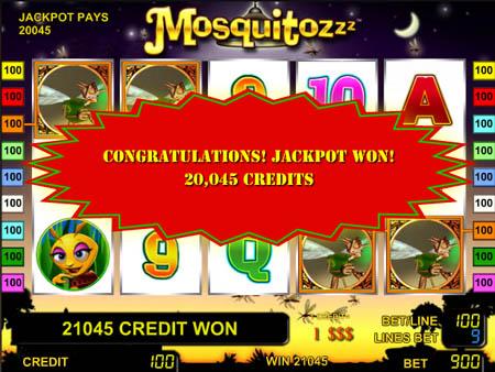 Игровой автомат Mosquitoz (Москиты) играть бесплатно