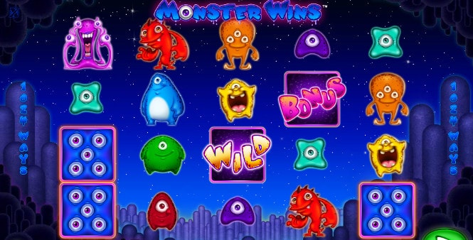 Игровой автомат Monster Wins - Монстер Винс
