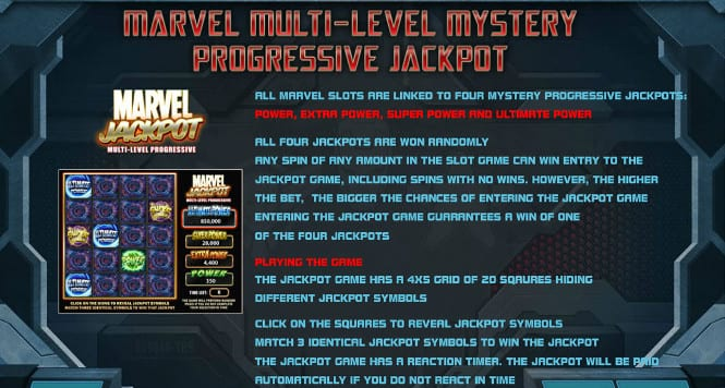 Iron Man 3 - Progressive Jackpot