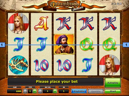 Игровой автомат Columbus Deluxe — Играйте в этот бесплатный онлайн слот от Novomatic
