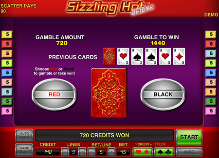sizzling hot online casino rs