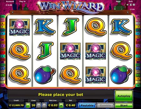 de online casino wizards win