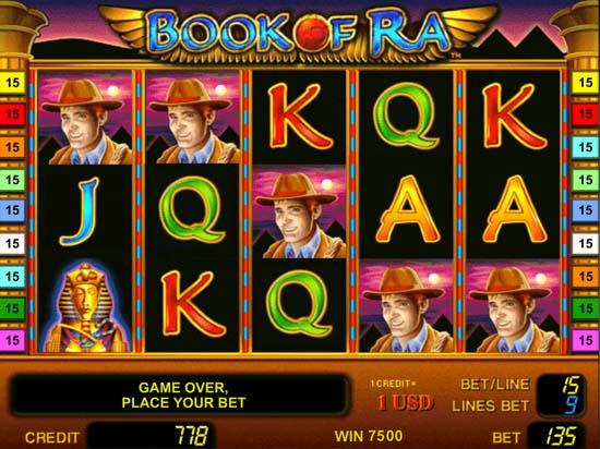 Игровой автомат Book Of Ra (Книжки, Бук оф Ра) играть