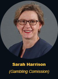 Sarah Harrison - Gambling Comission