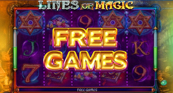 игра Lines of Magic - фриспины