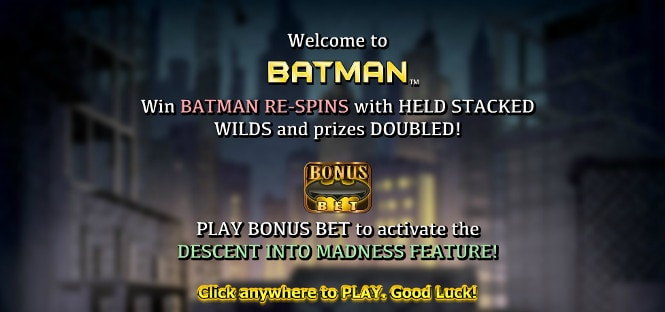 Игра Batman - респины и бонус тур The Descent into Madness
