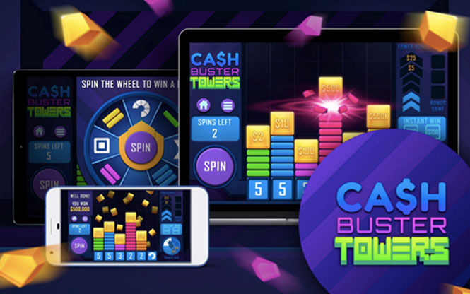 Новая игра от IWG - Cash Buster Towers